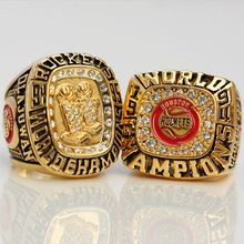 Gold Jewelry 2015 Lastest Design 1995 1994 Two Years America Basketball League Match Championship Men's Ring