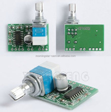New Mini PAM8403 5V 2 Channel USB For Audio Amplifier Board 3Wx2W Volume Control