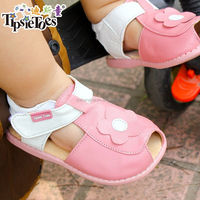 2015 italian leather new wholesale price HOT sale flat kid shoes summer shoe used second hand flexible garden shoe