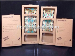 2015 New arrival kraft paper case for iphone 6 with printing manufacture