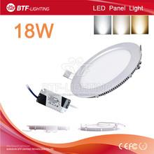 18w led panel light SMD 2835 Warm White/Cold White/Natural White led light ceiling 85-265V