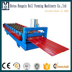Salable double deck color steel roof tile roll forming machines with ce certification