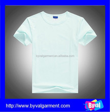 China wholesale 130gsm plain white election t shirt for promotion