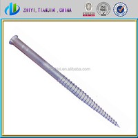 helical piles / earth screw anchors