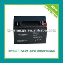 Professional grade 12V lithium auto battery for motorcycle