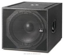 18 inch 600 watts subwoofer (CLA-118A) for dj music show