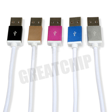 Nylon line cable for iphone6/Data cable for iphone6 2015 New design China Manufacture