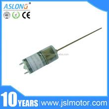 6v DIY 12v dc motor with gear reduction for toys blender 2mm shaft diameter