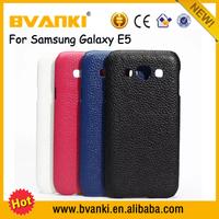 Amazon Best Seller Mobile Display Genuine Leather Handbag Case Cover For Samsung Galaxy E5,Slim Flip Cover For Samsung Galaxy E5