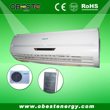 solar ac, cooling&heating 48V 12000BTU 100% DC green battery bank solar air conditioner