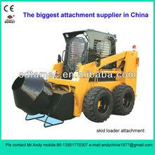 skid steer loader cement mixer(skid loader mixer,bobcat attachment)
