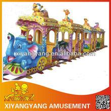 2014 Newest style elephant spacious amusement park entertaining electric train