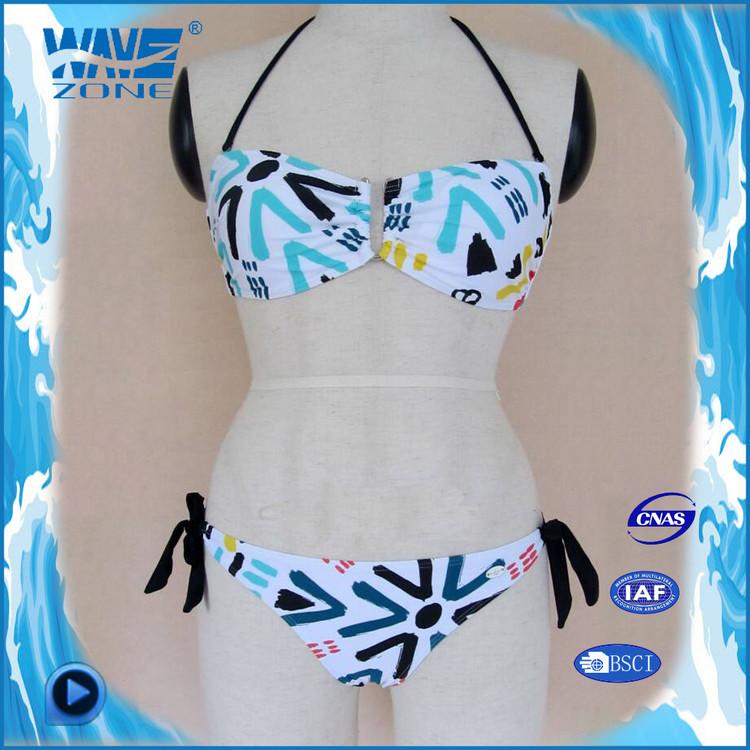 Sexy para mujer brasileña exótico de la impresión bikinis