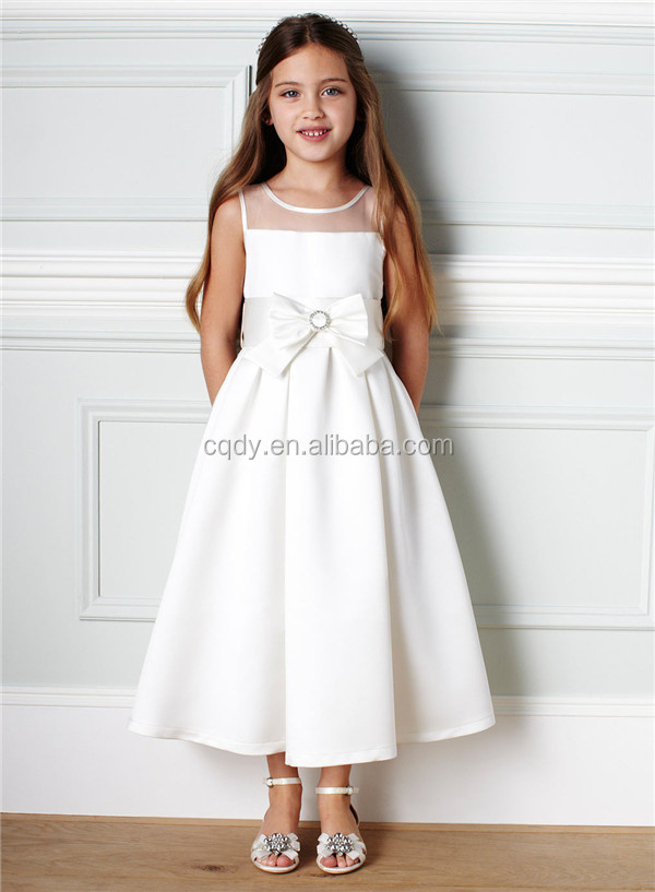 2015 Latest Wholesale Flower Girl Dresses Ball Gowns For Girls 10 Years Old Children Party