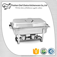 433C Commercial Level Economics Price Stainless Steel Buffet Chafer Oblong Chafing Dish Resturant Food Serving Warmer