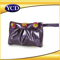 Plastic OEM wholesale women pu leather bag made in China