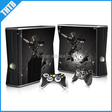 Decal skin for xbox 360 slim console vinyl sticker controller wholesale