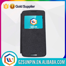 Genuine pu wallet leather accessory case for huawei ascend y520