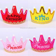 New Design Crown Prince Party Headband for Birthday