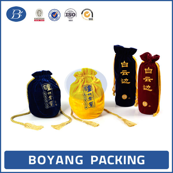 New high end luxury wine bottle bag wine bag