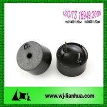 14*7.5mm 12V acfactory high frequency buzzer piezo buzzer price high frequency buzzer