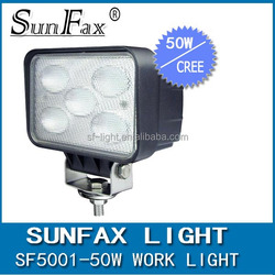 Super Power 50W led work light, 10w*5Ls led driving light flood lamp for Truck , Tractor