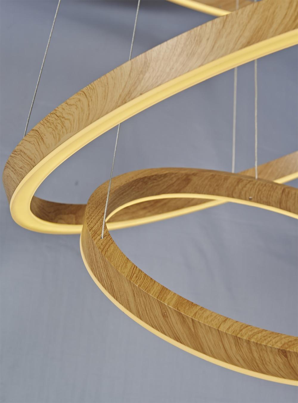 Ontwerp kroonluchters hout - Eigentijdse hangerlamp ...