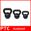 Hot selling Cast iron painting kettlebell in weight lifting