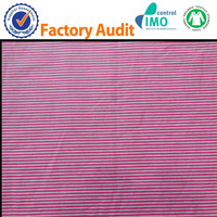 customerized stripe printing cotton fabric wholesale
