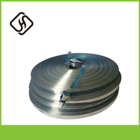 Blue Colored Self Adhesive Aluminum Foil for Cable Shielding Packaging