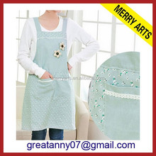 hot new products for 2015 kitchen accessories bow aprons wholesale design light blue apron for women