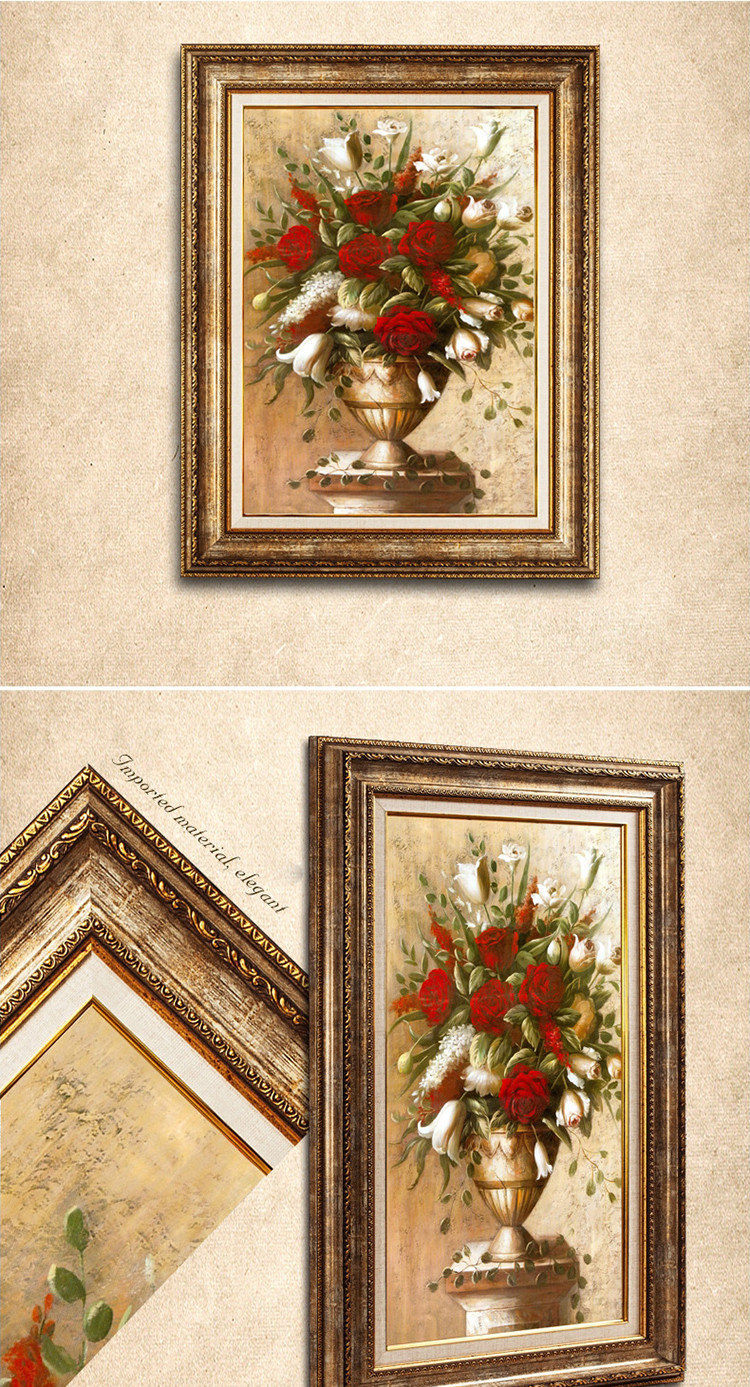 Cheap Carved Ornate Picture Frames Foam Ps Plastic Photo Frame 30x45 ...