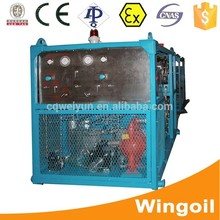 Oilfield Flowing Well Head Water Pressure Testing Device for Well Logging Equipment