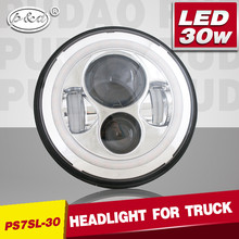 7 Inch Round Hi Low beam car LED Headlight for truck as JW SPEAKER STYLE