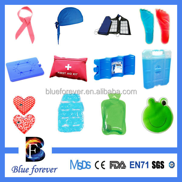 beautiful gel fruit shapes ice pack