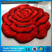 Baby Fashion Handmade Silk 3D Rose Red Carpet