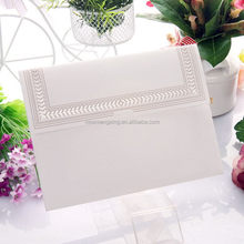 OEM branded glass wedding invitations