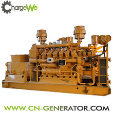 High quality and hot sale ! Jinan ChargeWe 80kw biomass gas generator