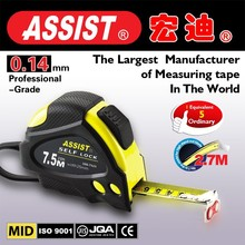 Printing custom logo with auto retractable abs case tape Measure steel