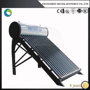 真空管太陽熱温水ボイラー