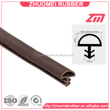 High quality PVC Slot Type Door Seal Gasket