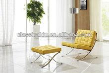 ikea barcelona chair, leather barcelona chair, barcelona lounge chair SF-505-1