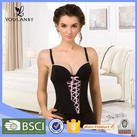 Customized LOGO Fitness Minimizer Young Lady Bodysuit
