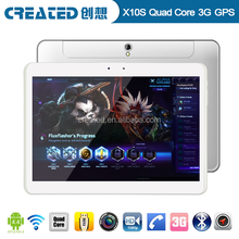 10.1 inch IPS screen Android 4.4 and MTK8382 Quad core 1.2GHz tablet with sim cards slot gsm