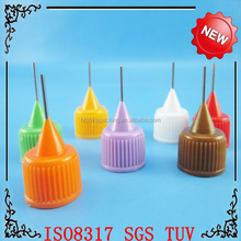 new design!5ml 10ml 15ml 20ml 30ml needle dropper PET bottle with childproof cap