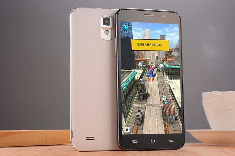 Star N750 Mobile Phone MTK6572 Dual Core Android 4.4 5.5 Inch IPS 960X540 512MB RAM 4GB ROM Dual Sim WCDMA 3G GPS