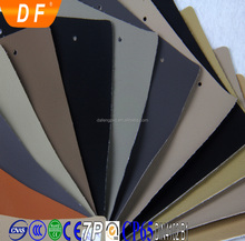Environmental flame retardant cold resistant abrasion-resistant pvc auto upholstery materials