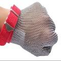 carnicero de protección de acero inoxidable de malla de alambre de corte guantes de resistencia