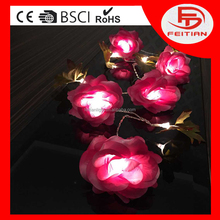 holiday decoration indoor flower battery controlled string light new led light chain