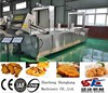 SK free shipping middle-largre size Electric heating automatic chicken steak frying production line